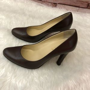 Ralph Lauren Sabrina leather pum size 5.5